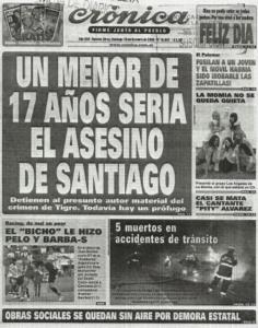 Imagen 3: Crónica. 18 de octubre de 2009
